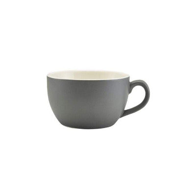 Genware Matte 9oz Cappuccino Cup - Coffeecups.co.uk