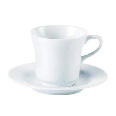 Porcelite Tall Cup 7oz - Coffeecups.co.uk