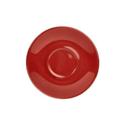 Genware Colours Saucer 13.5cm - Coffeecups.co.uk