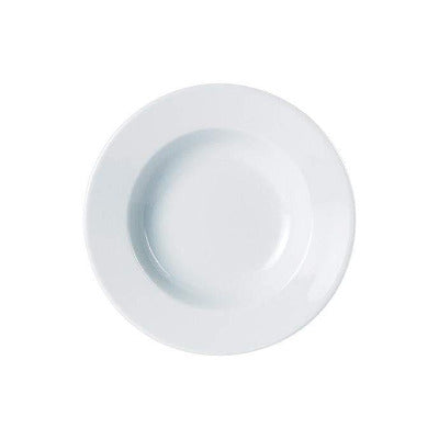 Porcelite Soup Plate 23cm - Coffeecups.co.uk