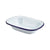 Genware Enamel Rectangular Pie Dishes White 18 x 13.5cm | Genware Enamel | Coffeecups.co.uk