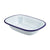 Genware Enamel Rectangular Pie Dishes White 20 x 15cm | Genware Enamel | Coffeecups.co.uk