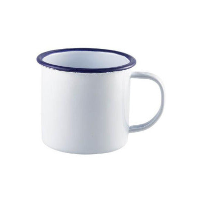 Genware Enamel Mugs 12.5oz/360ml - Coffeecups.co.uk