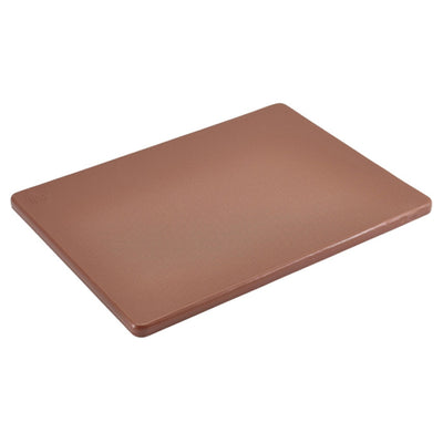 Genware Low Density Chopping Boards 45 x 30cm Brown | Coffeecups.co.uk