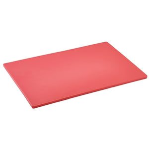 Genware Low Density Chopping Boards 45 x 30cm Red | Coffeecups.co.uk