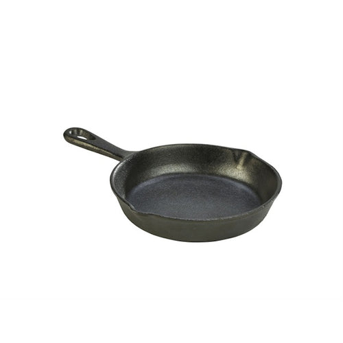 Genware Mini Cast Iron Frypan 15cm - Coffeecups.co.uk