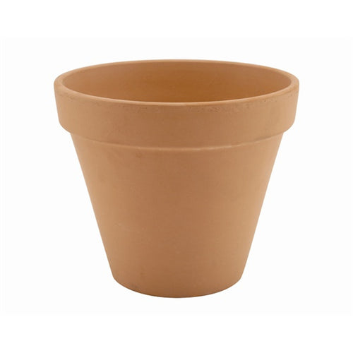 Genware Terracotta Pot Rustic 11.2cm - Coffeecups.co.uk