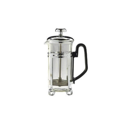 Genware Chrome Cafetiere 3 Cup 11oz - Coffeecups.co.uk