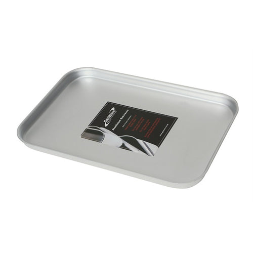 Genware Foodservice Baking Sheet Aluminium 31.5 x 21.5cm - Coffeecups.co.uk