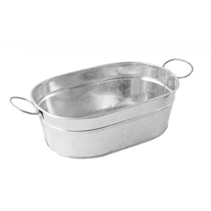 Genware Galvanised Steel Sharing Bucket 23cm - Coffeecups.co.uk