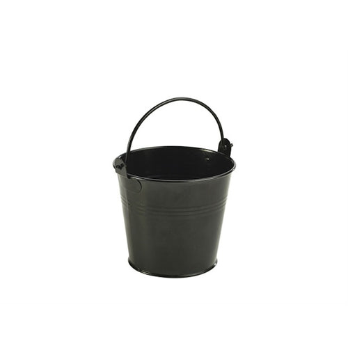 Genware Galvanised Steel Serving Buckets 10cm - Coffeecups.co.uk