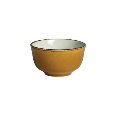 Steelite Terramesa Sugar Bowl 8oz MUSTARD - Coffeecups.co.uk
