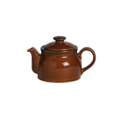 Steelite Terramesa Club Teapot MOCHA 15oz - Coffeecups.co.uk