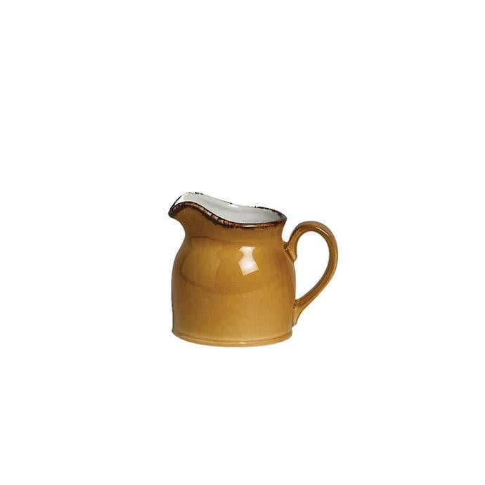 Steelite Terramesa Club Jug MUSTARD 5oz - Coffeecups.co.uk