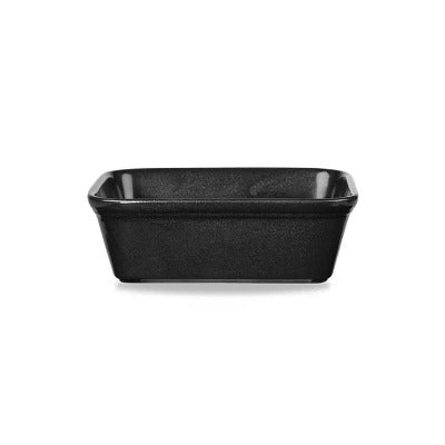 Churchill Black Rectangular Pie Dish 21.1oz