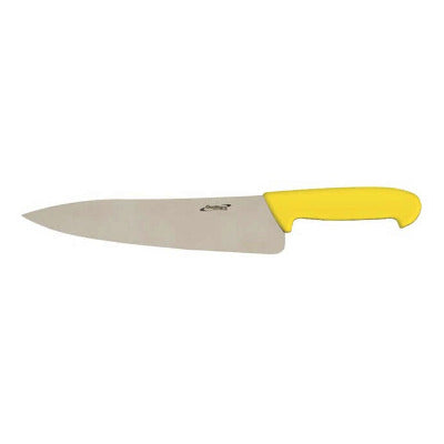 Genware Chef Knife 8 Inch/20cm Yellow | Coffeecups.co.uk