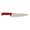 Genware Chef Knife 10 Inch/25cm Red | Coffeecups.co.uk