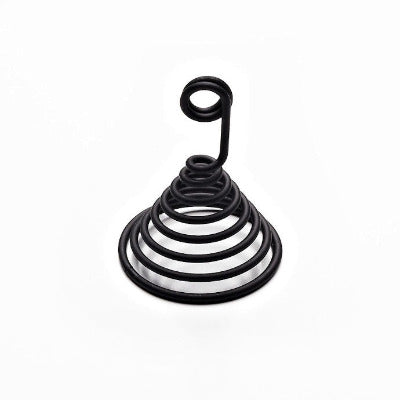 Steelite Black Spiral Tag Holder - Coffeecups.co.uk