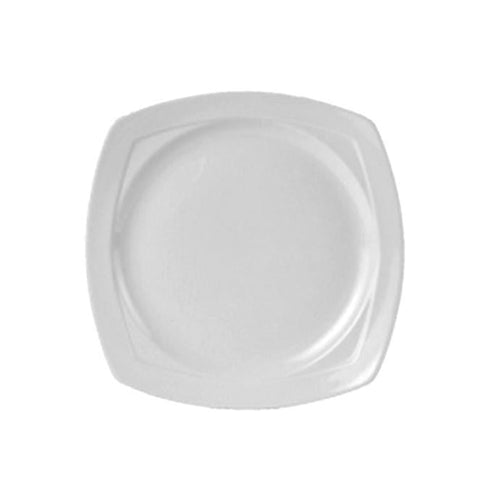 Steelite Simplicity Square Plate 23.5cm - Coffeecups.co.uk