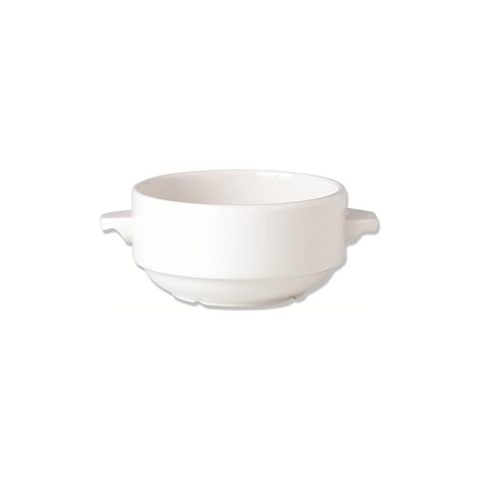 Steelite Simplicity Lugged Soup Bowl 10oz - Coffeecups.co.uk
