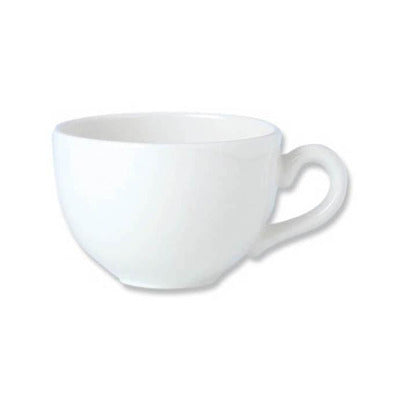 Steelite Simplicity Flat Cup 6oz - Coffeecups.co.uk