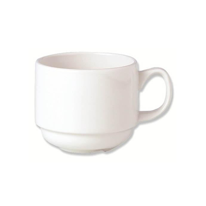 Steelite Simplicity Stacking Cup 7oz - Coffeecups.co.uk