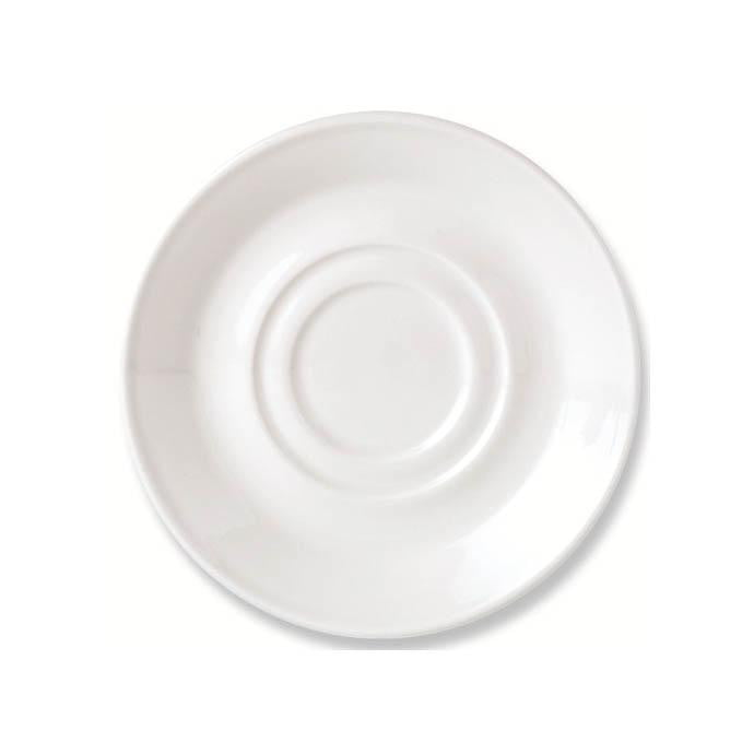 Steelite Simplicity Saucer 14.5cm - Coffeecups.co.uk