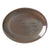 Steelite Revolution Oval Coupe Plates Granite 34.25cm | Coffeecups.co.uk