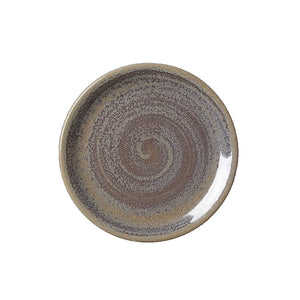 Steelite Revolution Coupe Plate Granite 15.25cm | Coffeecups.co.uk