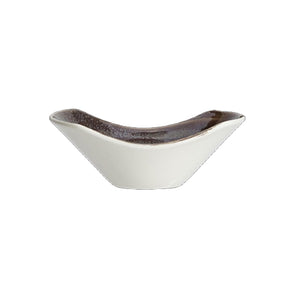 Steelite Revolution Scoop Bowls Graphite 11.5cm | Coffeecups.co.uk