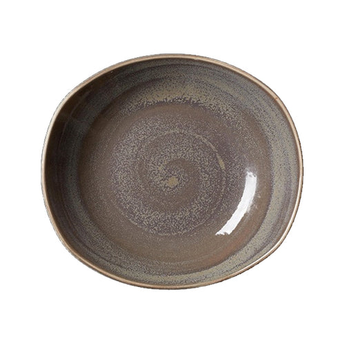 Steelite Revolution Zest Platters Granite 25.5cm | Coffeecups.co.uk