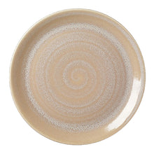 Steelite Revolution Coupe Plate Sandstone 28cm | Coffeecups.co.uk