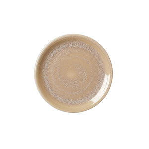 Steelite Revolution Coupe Plate Sandstone 15.25cm | Coffeecups.co.uk