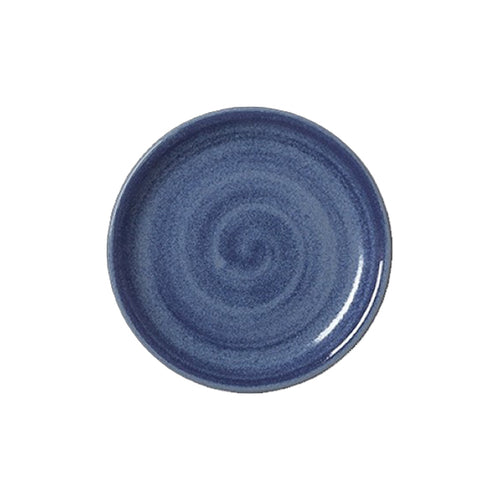 Steelite Revolution Coupe Plate Bluestone 20.25cm | Coffeecups.co.uk