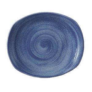 Steelite Revolution Spice Plates Bluestone 30.5cm | Coffeecups.co.uk