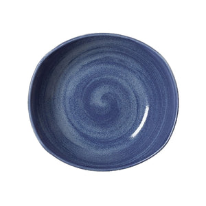 Steelite Revolution Zest Platters Bluestone 25.5cm | Coffeecups.co.uk