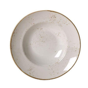 Steelite Craft Nouveau Plate WHITE 27cm - Coffeecups.co.uk