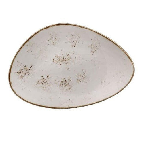 Steelite Craft Plate WHITE 37.5cm - Coffeecups.co.uk