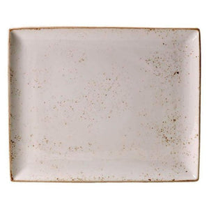 Steelite Craft Rectangle Two WHITE 33cm - Coffeecups.co.uk