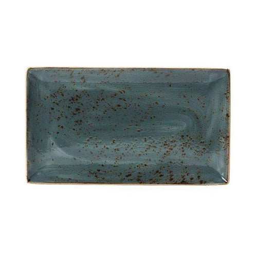 Steelite Craft Rectangular Plate BLUE 27 x 16.75cm - Coffeecups.co.uk