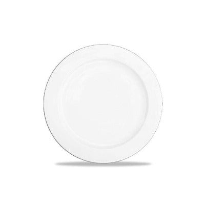 Churchill Alchemy White Rimmed Plate 20cm - Coffeecups.co.uk
