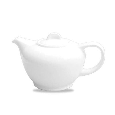 Churchill Alchemy White Teapot 1L/36oz - Coffeecups.co.uk