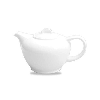 Churchill Alchemy White Teapot 25oz - Coffeecups.co.uk
