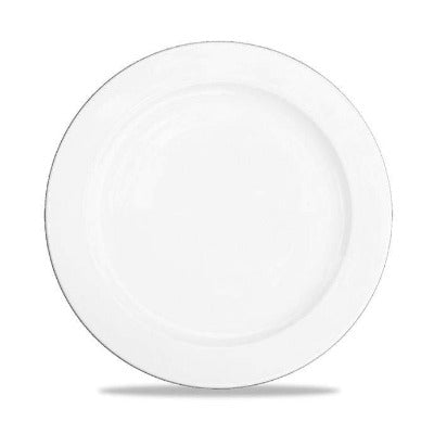 Churchill Alchemy White Rimmed Plate 30cm - Coffeecups.co.uk