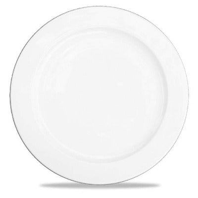 Churchill Alchemy White Service Plate 33cm - Coffeecups.co.uk