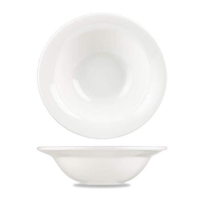 Churchill Alchemy White Round Bowl 19.5cm - Coffeecups.co.uk