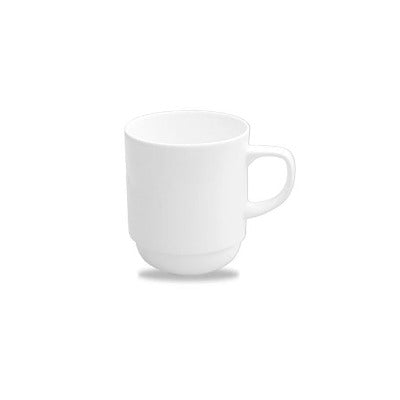 Churchill Alchemy White Stacking Mug 10oz - Coffeecups.co.uk