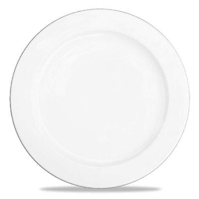 Churchill Alchemy White Rimmed Plate 33cm - Coffeecups.co.uk