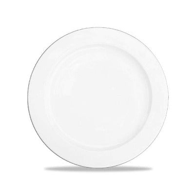 Churchill Alchemy White Rimmed Plate 23cm - Coffeecups.co.uk