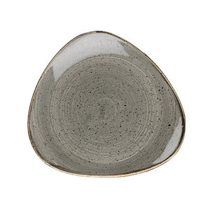 Churchill Stonecast Triangular Plates 19.2cm